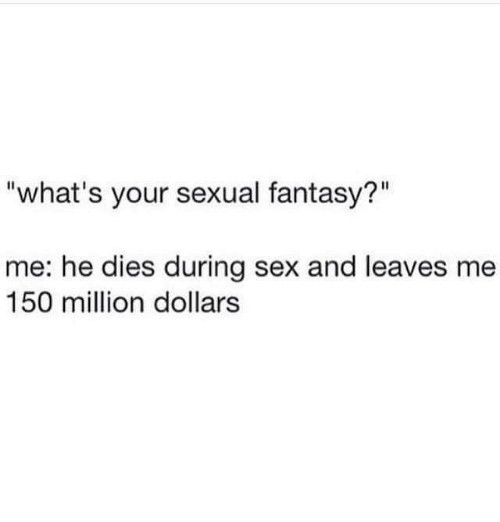 Fantasies during sex