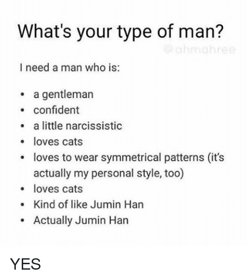 What kind of men are narcissits?