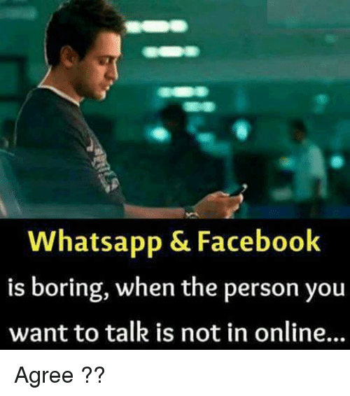 boring to talk to