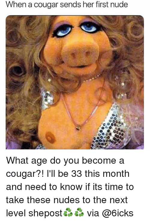 whats the age of a cougar