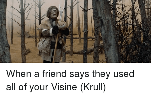 Weed, Friend, and All: When a friend says they used all of your Visine (Krull)