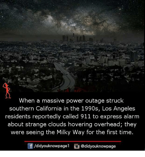 When a Massive Power Outage Struck Southern California in