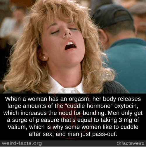How often should woman orgasm