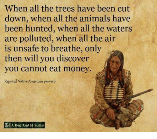 When All the Trees Have Been Cut Down When All the Animals Have ...