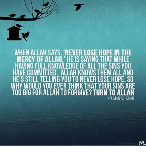 how big is allah