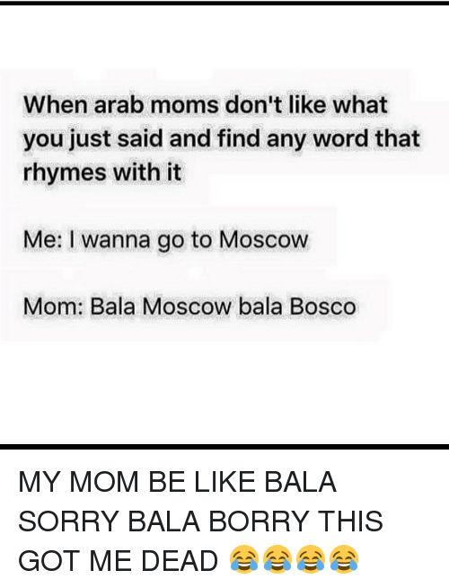 when arab moms don t like what you just said and find any word that