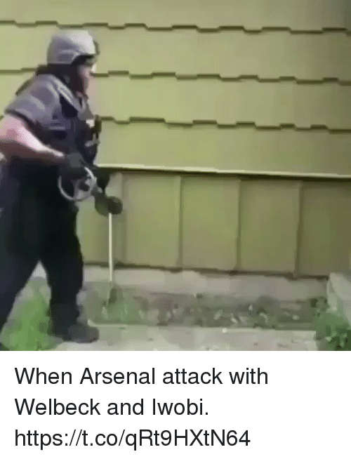 Arsenal, Soccer, and Welbeck: When Arsenal attack with Welbeck and Iwobi. https://t.co/qRt9HXtN64