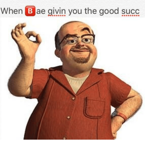 when bae givin you the good succ 17223808 ✅ 25 best memes about good succ good succ memes,Succ Meme