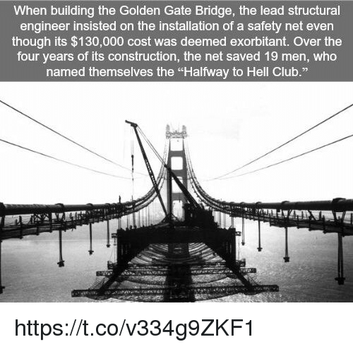 club memes and construction when building the golden gate bridge the lead