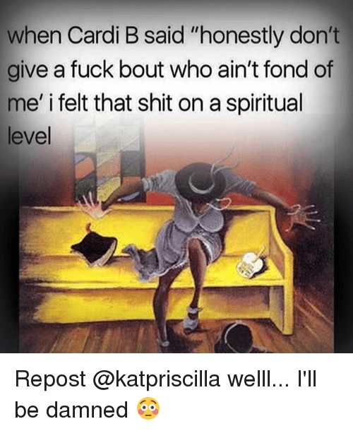 I dont give a fuck bout