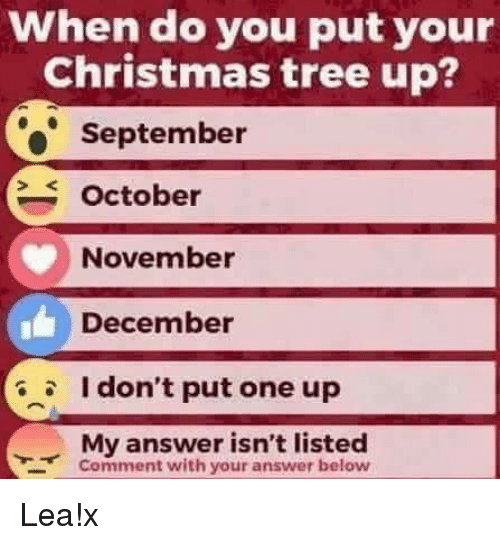 memes christmas tree and tree when do you put your your christmas tree - When Should You Put Up Your Christmas Tree