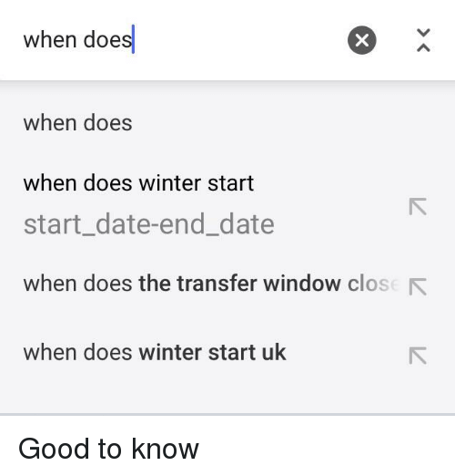 when does winter start - Google Search