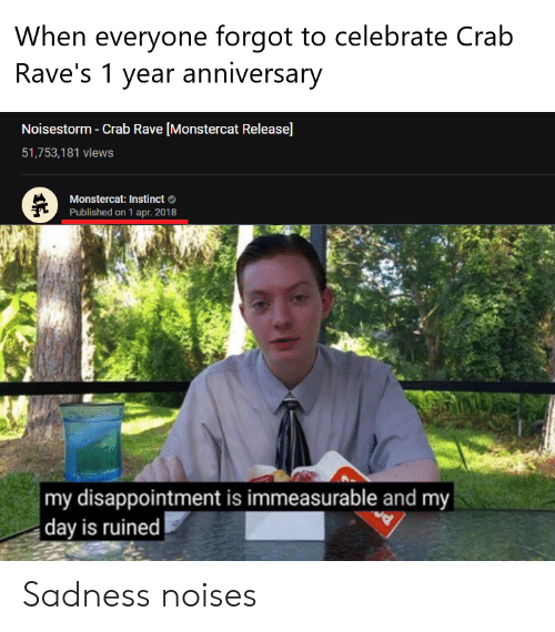 When Everyone Forgot to Celebrate Cralb Rave's 1 Year