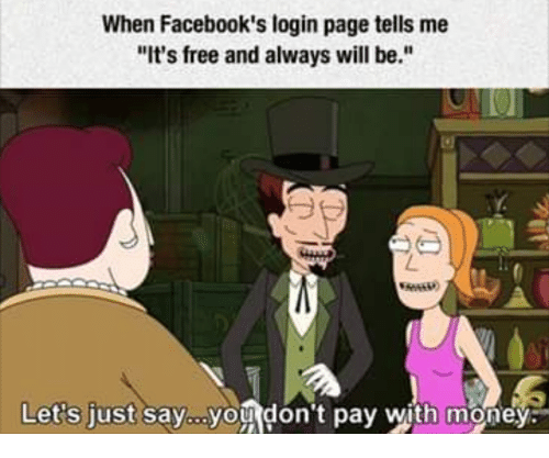 Money Free And Page When Facebook S Login Tells Me It
