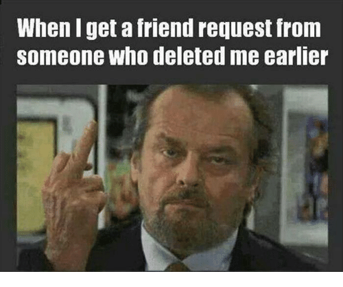 friend request meme
