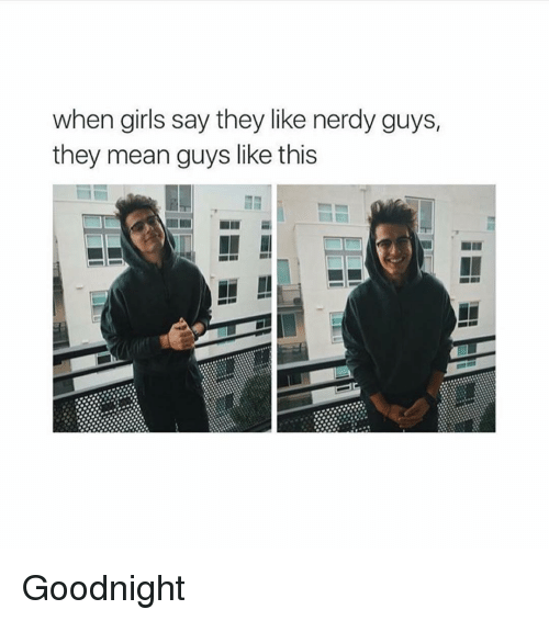 Nerdy guys meaning