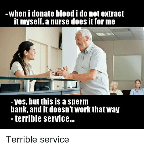Bank sperm work
