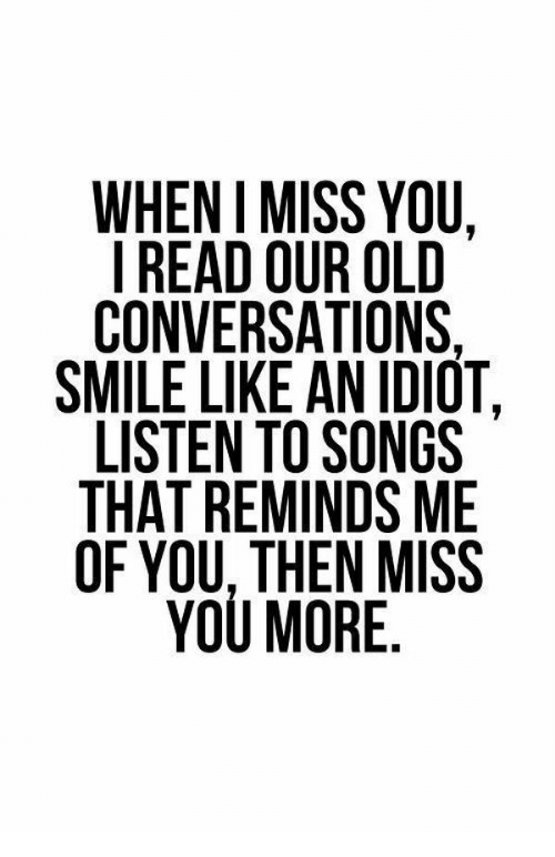 Good missing you songs