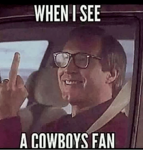 when i see a cowboys fan 25633524 when i see a cowboys fan dallas cowboys meme on me me