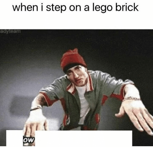 when i step on a lego brick ow 25046322 25 best lego brick memes sets memes, what the hell memes