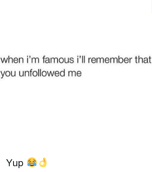 Unfollowed You - Black