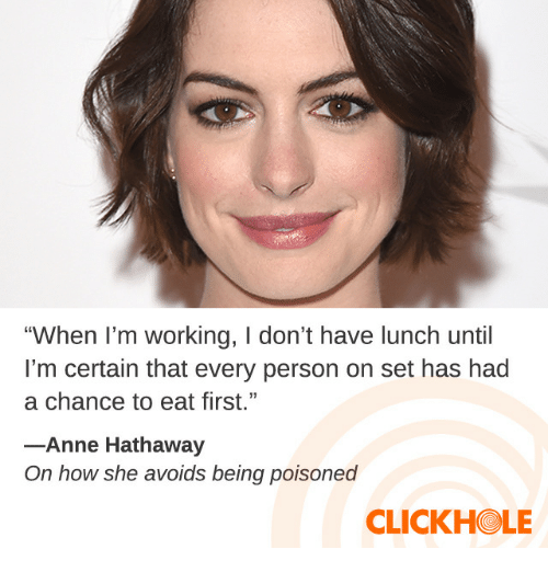 25+ Best Memes About Anne Hathaway