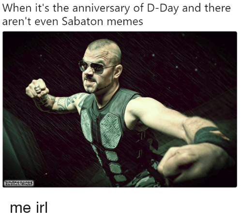 When It's the Anniversary of D-Day and There Aren't Even
