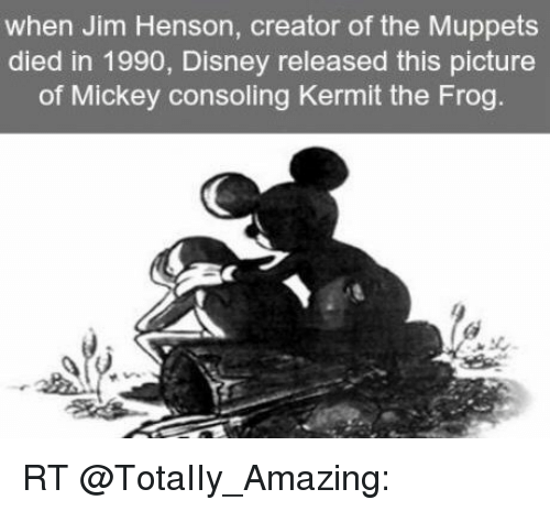 Disney Kermit The Frog And Memes When Jim Henson Creator Of