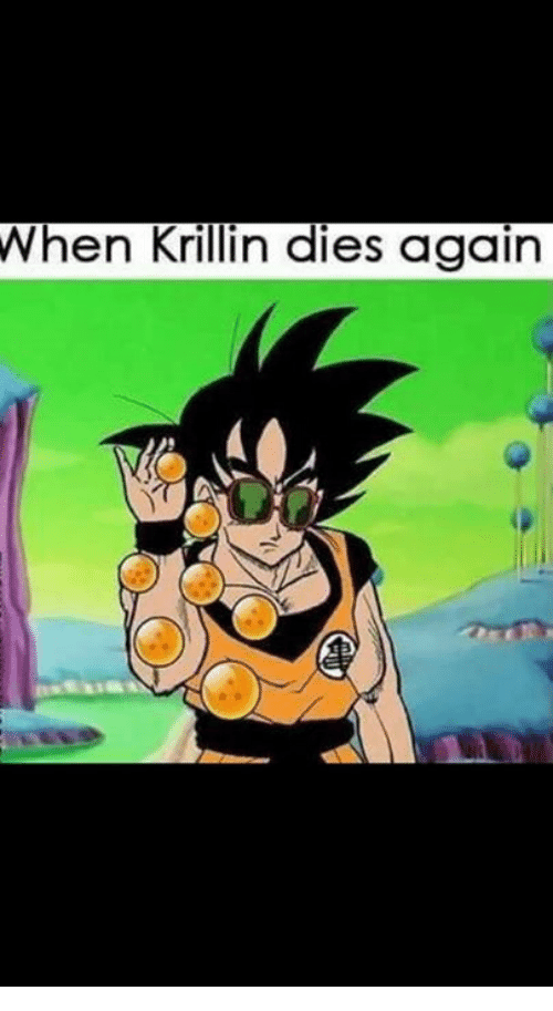 Memes, Krillin, and 🤖: When Krillin dies again