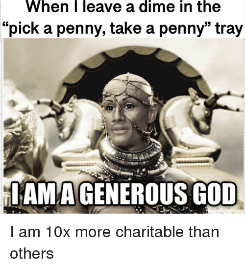 """God, Dime, and Iam: When  
