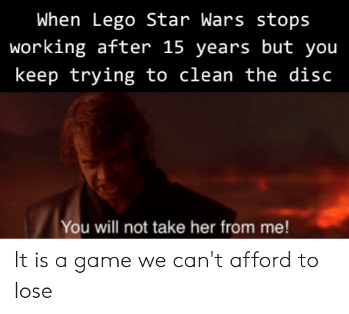 When Lego Star Wars Stops Working After 15 Years But You Keep