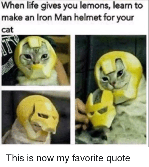 When Life Gives You Lemons Learn To Make An Iron Man Helmet For Your