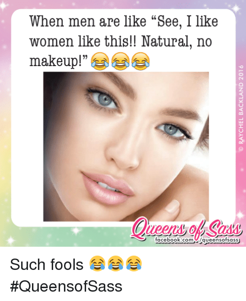 do men like women with makeup
