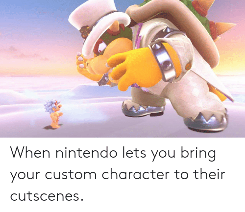 When Nintendo Lets You Bring Your Custom Character To Their