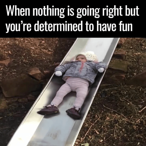 Memes, 🤖, and Fun: When nothing is going right but  you're determined to have fun