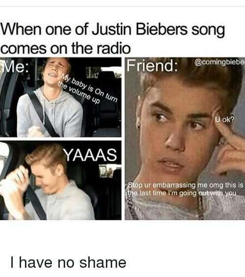 when one of justin biebers song comes on the radio 11981540 ✅ 25 best memes about justin bieber songs justin bieber songs,Funny Justin Bieber Memes
