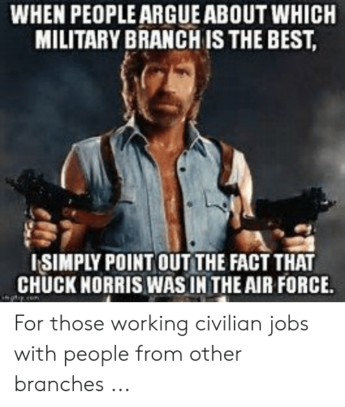 Best Military Branch >> When People Argue About Which Military Branch Is The Best Isimply