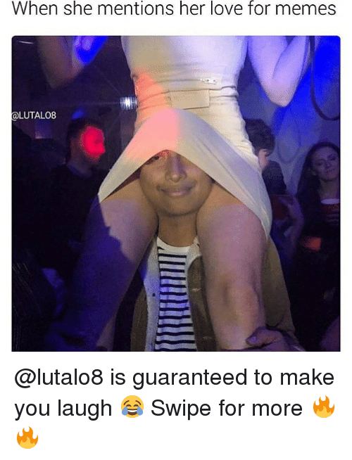 Love, Memes, and 🤖: When she mentions her love for memes  LUTALO8 @lutalo8 is guaranteed to make you laugh 😂 Swipe for more 🔥🔥