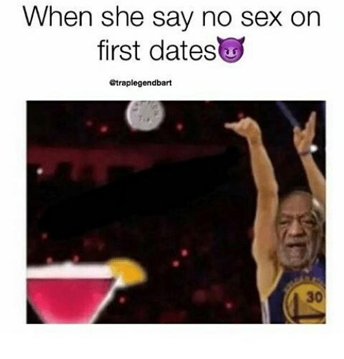 No sex on the first date