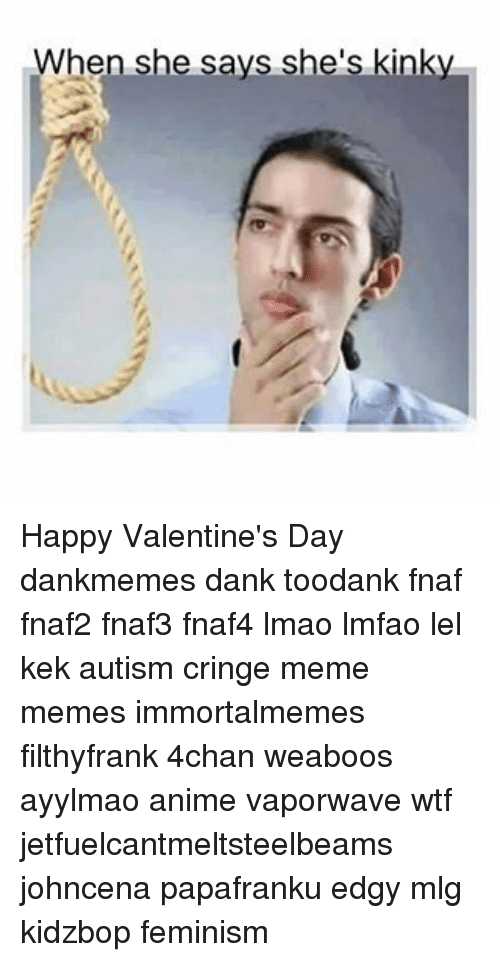25 Best Memes About Valentine S Day Mlg Wtf Lmao Anime Meme