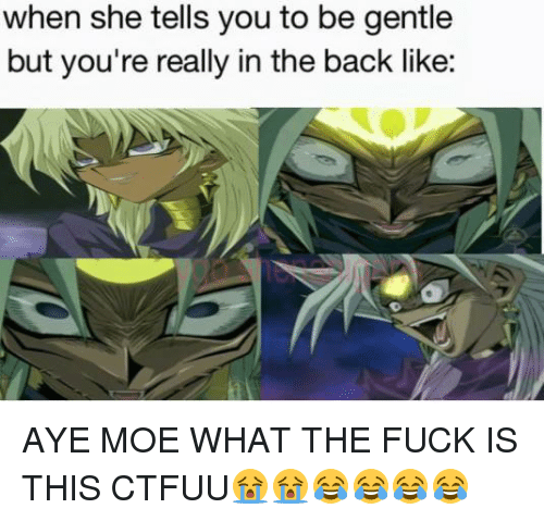 What the fuck is moe