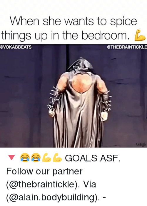 Spicing things up in the bedroom