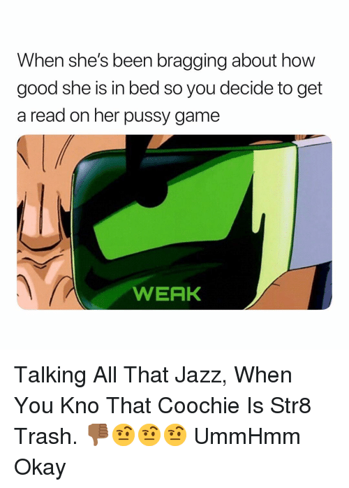 All that jazz pussy
