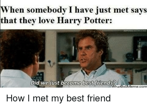 Funny Harry Potter Drawing Meme : ✅ best memes about did we just become best friends did we
