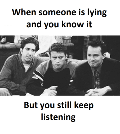 how to know when people are lying