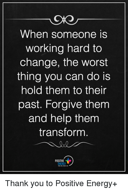 responding positively to change