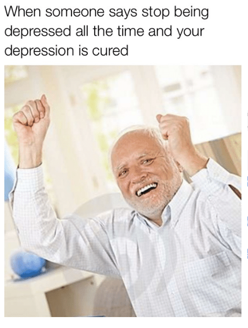 how to quit being depressed