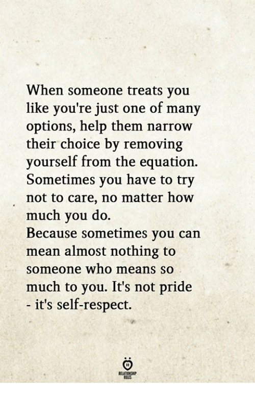 lines on self respect