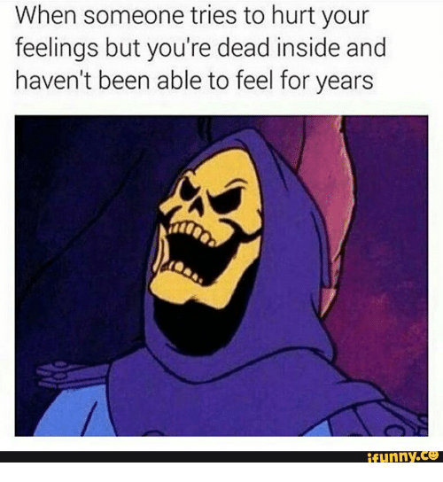 when someone tries to hurt your feelings but youre dead 14730756 25 best funny skeletor memes when someone tries to hurt your