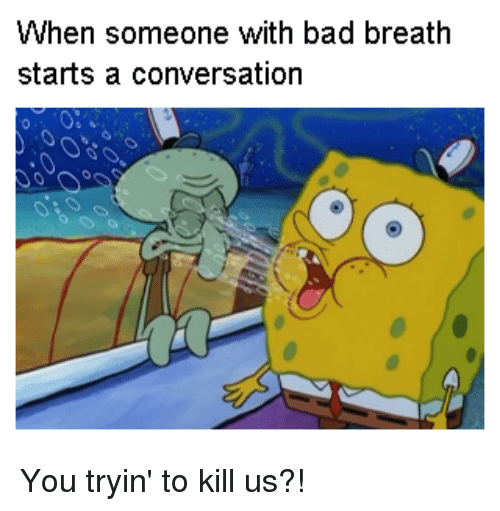 spongebob out of breath meme